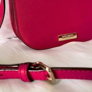 •SOLD• Bright Pink Kate Spade Cross Over Bag